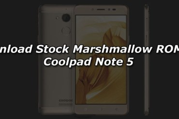 Download Stock Marshmallow ROM for Coolpad Note 5