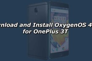 Download and Install OxygenOS 4.1.1 for OnePlus 3T