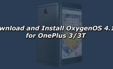 Download and Install OxygenOS 4.1.3 for OnePlus 3/3T