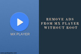 How to Remove Ads from MX Player on Android without Root