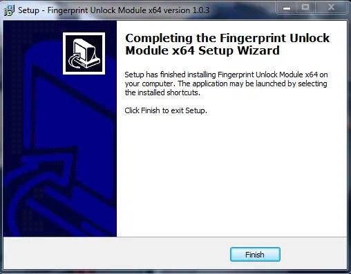 Windows Fingerprint centric module