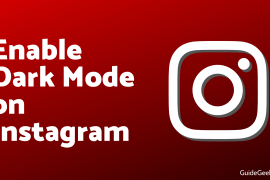 Enable Dark Mode on Instagram