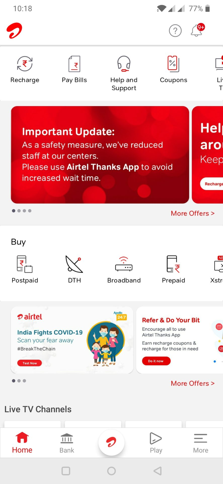 Check Your Coronavirus Risk Level Using Airtel's Coronavirus Symptom Checker Tool