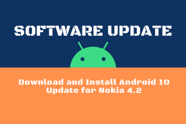 Download and Install Android 10 Update for Nokia 4.2