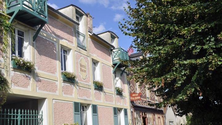 Giverny, l'hôtel Baudy en Normandie