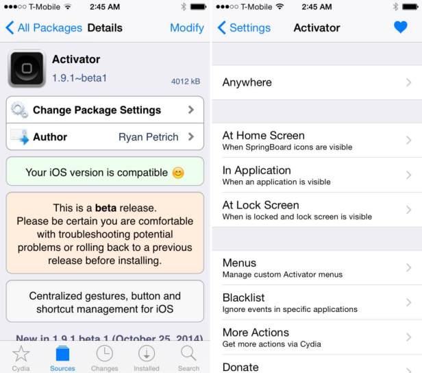Activator-iOS-8