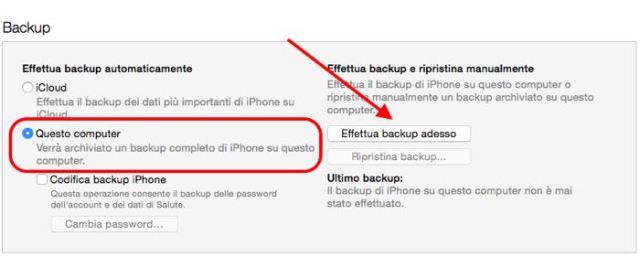 Come installare beta pubblica iOS 9 backup