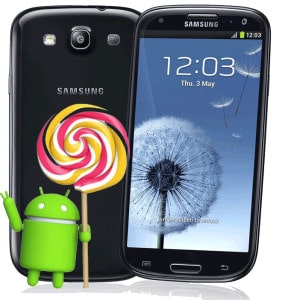 Samsung Galaxy S3 Neo ad Android 5.1.1 a