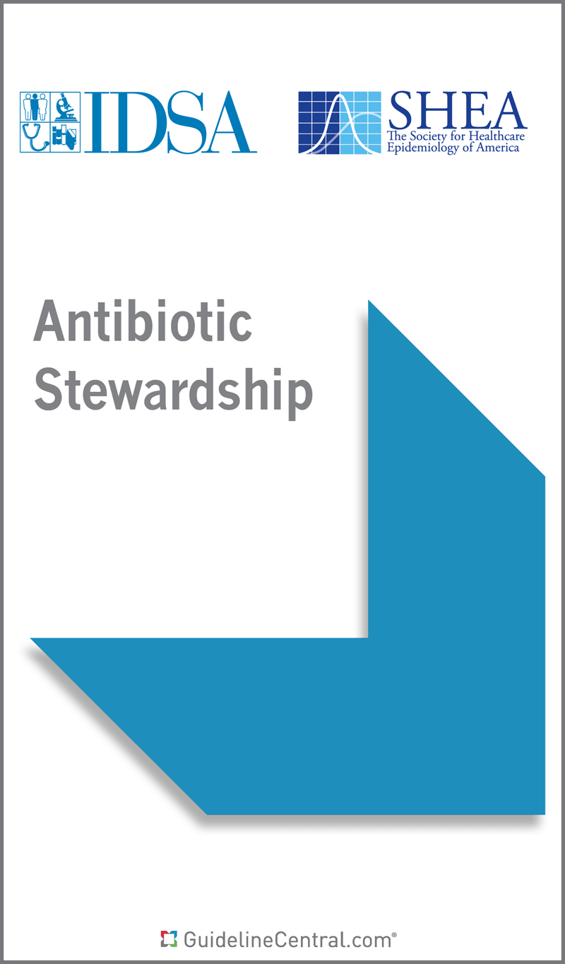Antibiotic Stewardship GUIDELINES Pocket Guide Guideline Central