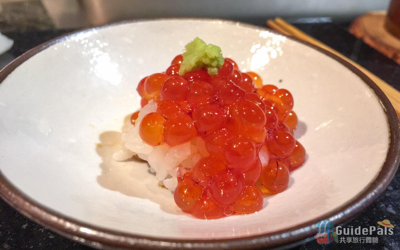 初魚料亭-台北-泰順街-日本料理-帶皮鮭魚卵飯-生魚片-握壽司-訂位-鐵板燒-營業時間-電話