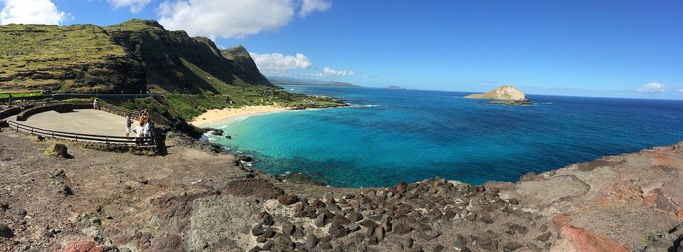 La découverte d'Hawaï