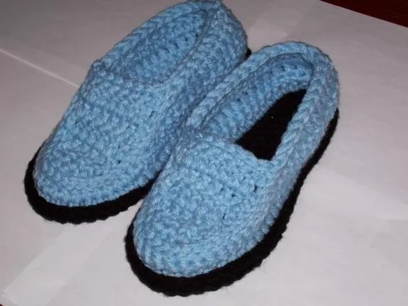 Mens Knitted Slippers Easy Pattern