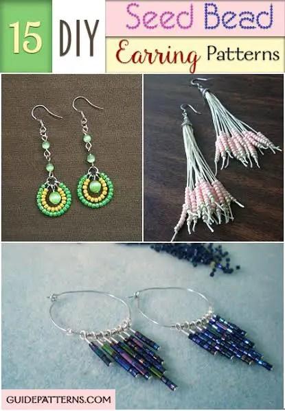 15 DIY Seed Bead Earring Patterns Guide Patterns