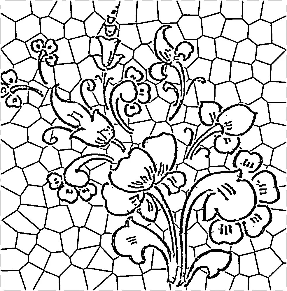 45 simple stained glass patterns guide patterns