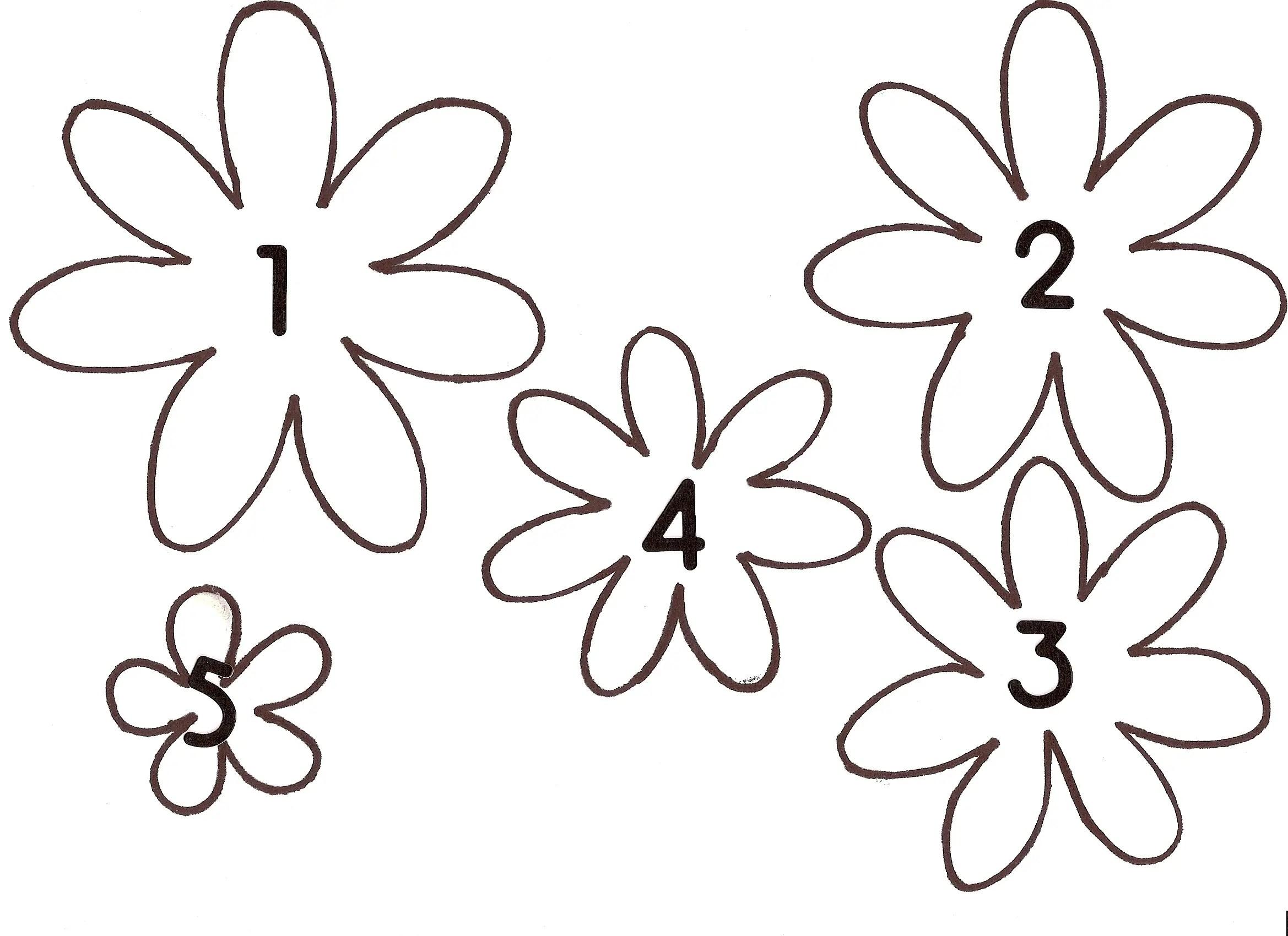 Flower Template. flower petal template 20 free word pdf documents ...