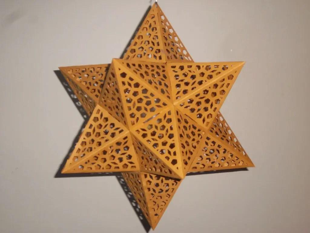 21 Creative Paper Star Lanterns Pattern Guide Patterns