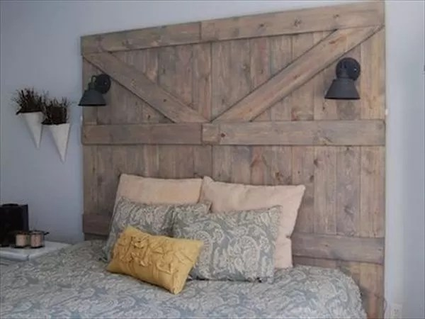 Image Result For How To Make A Headboard Out Of Reclaimed Wood