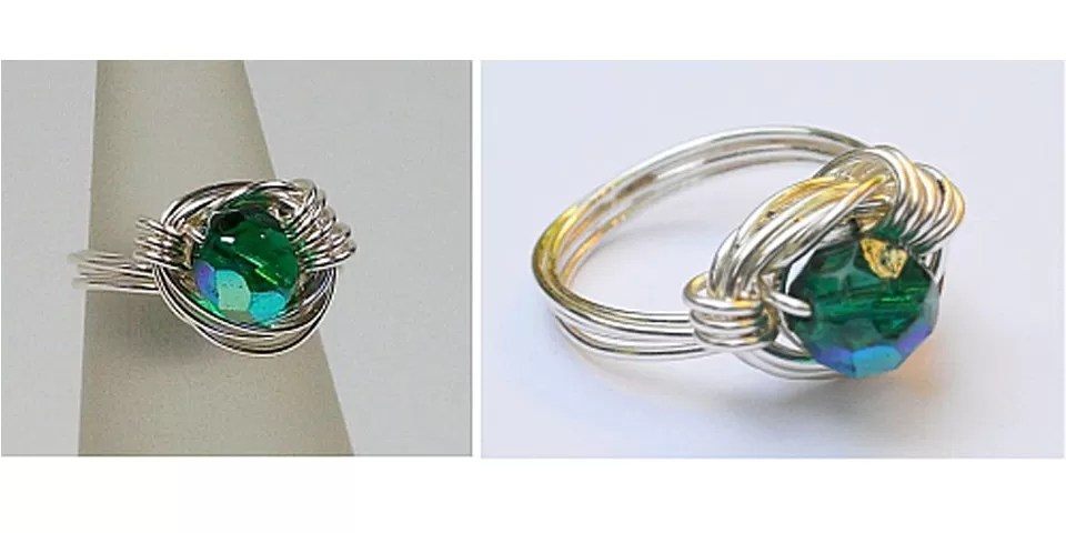 22 Patterns For Wire Wrapped Rings With DIY Tutorials