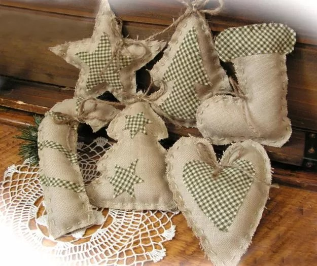 Burlap Crafts Guide Patterns