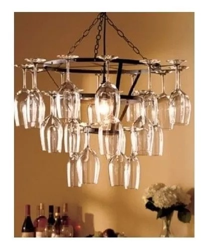 Chandelier Wine Glass Holder