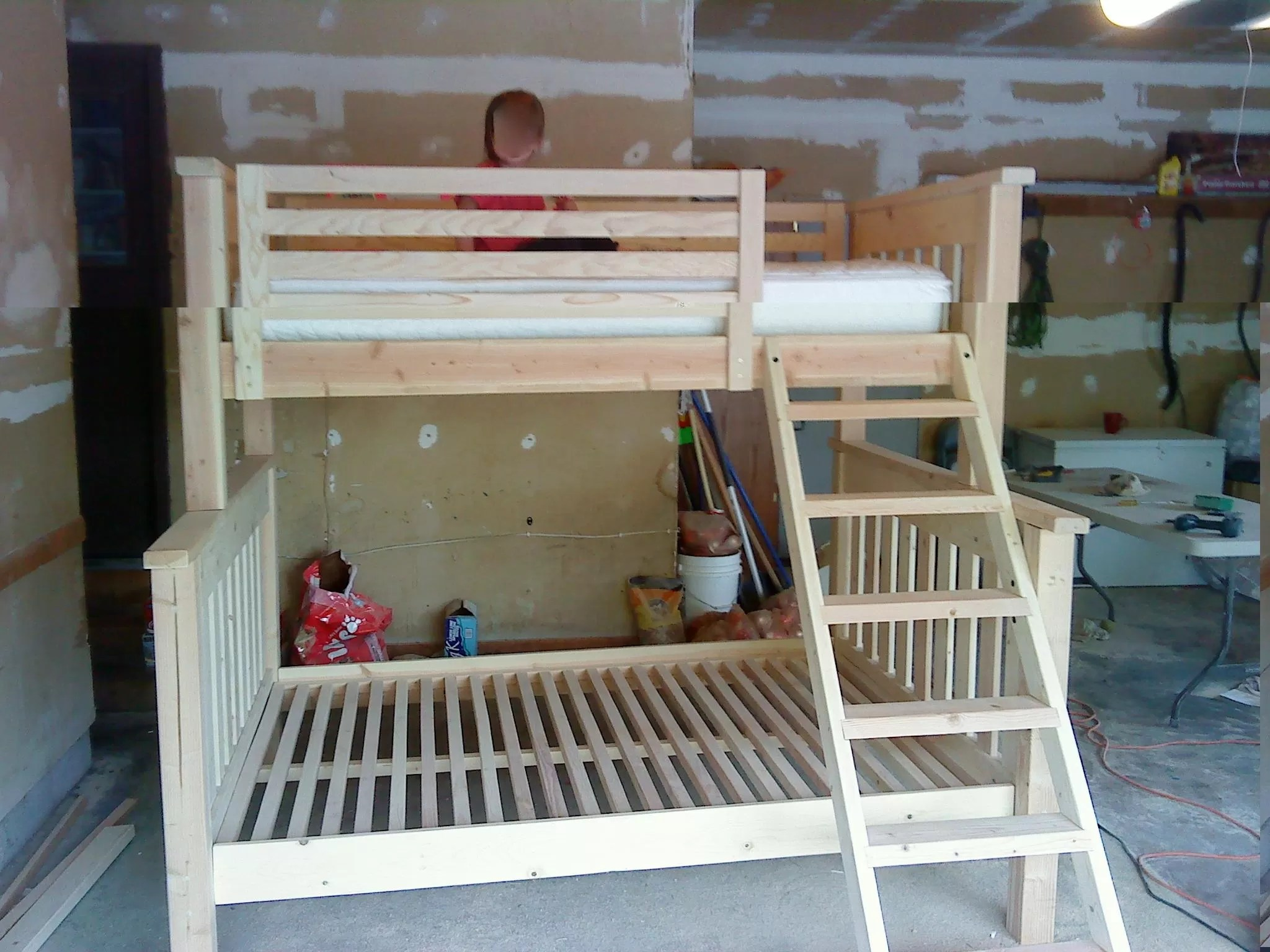 Will Make One Craft Make Your Own Bunk Beds Plans