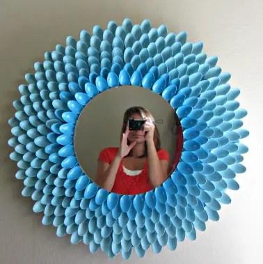 Spoon Mirror 14 DIY Tutorials Guide Patterns
