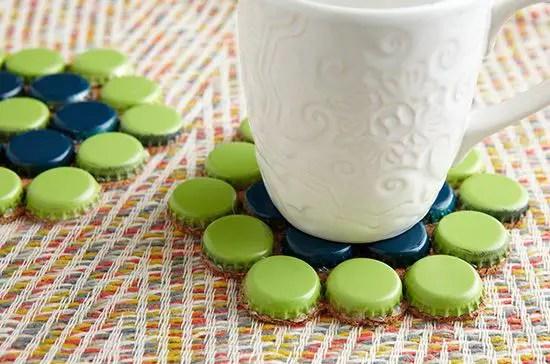 15 Bottle Cap Coasters Making Ideas Guide Patterns