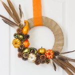30 Decorative Diys To Make A Pine Cone Wreath Guide Patterns