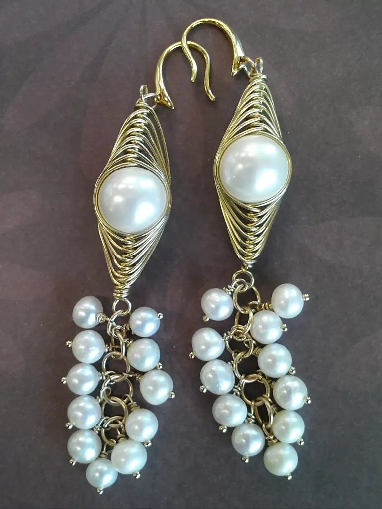 25 Stylish Tutorials For Wire Wrapped Earrings Guide