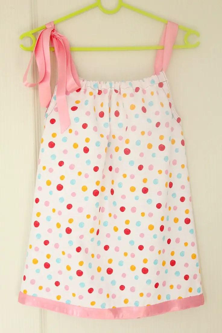 ideas to make a pillowcase dress