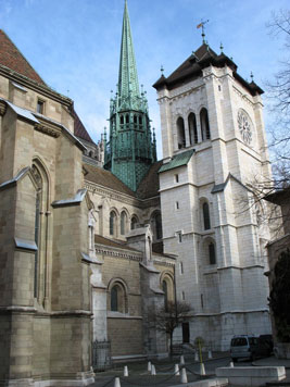 Saint Peter of Geneva, a general presentation of the cathedral