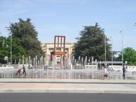 Das internationale Viertel von Genf