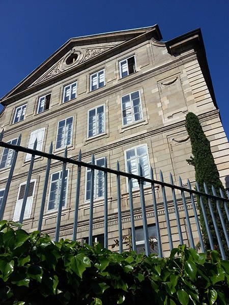 Architektur in Genf zur Zeit von Jean-Jacques Rousseau