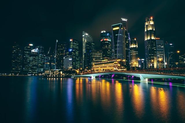 Singapore Night Photo