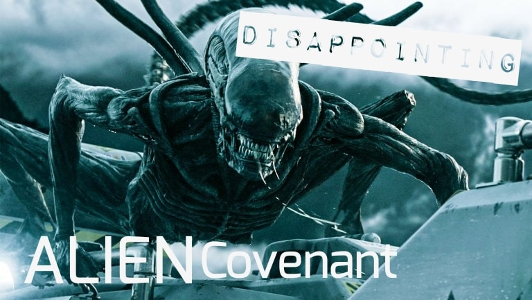 Alien Convenant Rating Disappointing