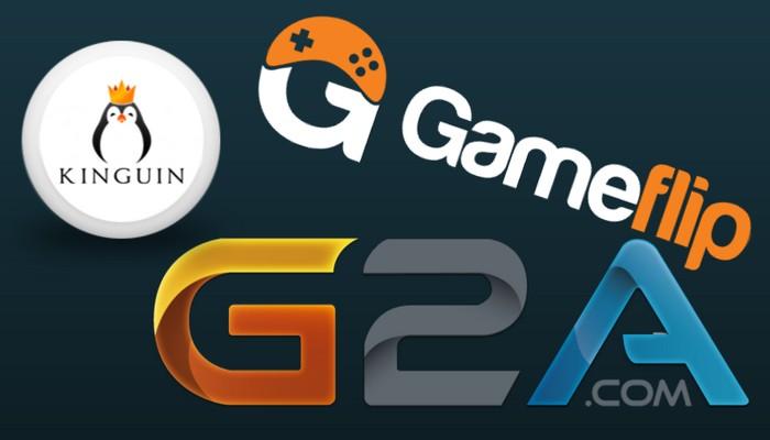 Gameflip G2A Kinguin