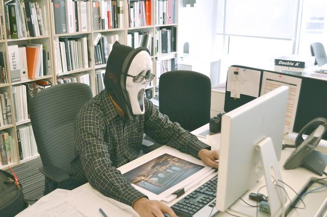 Joke Office Guy Bad Habit