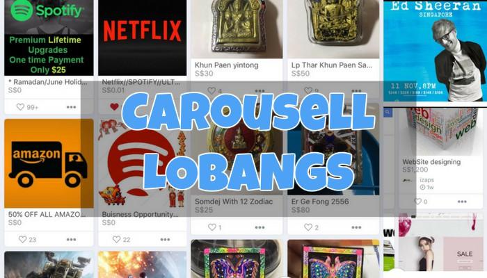 Carousell Singapore must buys lobangs