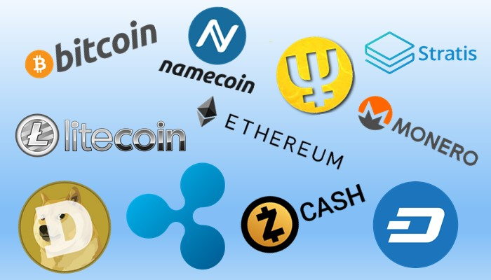 Other forms of cryptocurrency