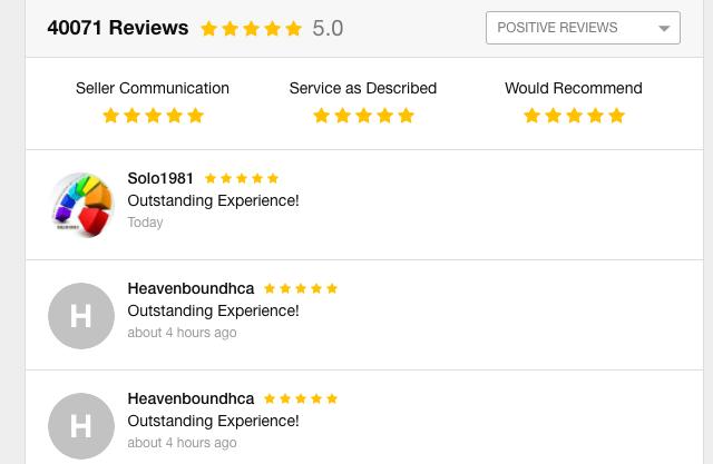 Positive Review Fiverr