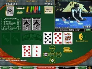Global Live Casino Texas Hold'em