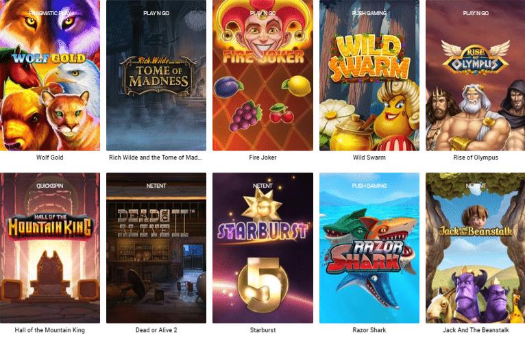 Popular Thrills Casino Slots