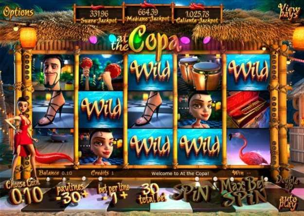 At the Copa 3D Video Slot