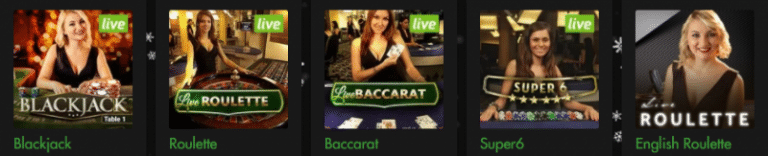 Rich Casino Live Dealers