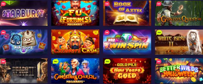 Popular Night Rush Casino Games