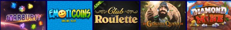 Euro Slots Casino Games