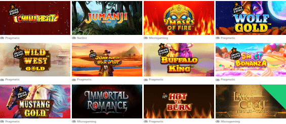 Popular Monster Casino Games