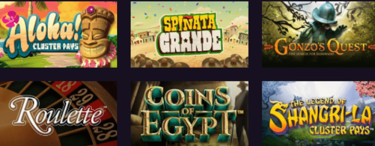 Cosmic Spins Casino Games