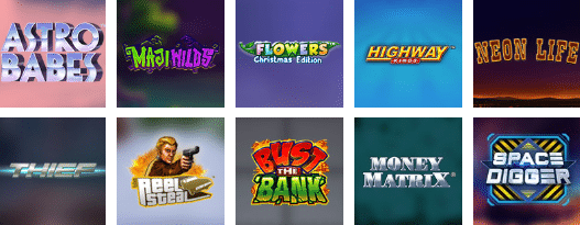 Popular Chilli Casino Games