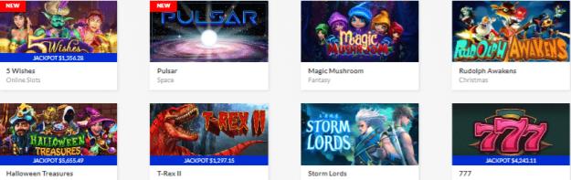 Popular Prism Casino Games